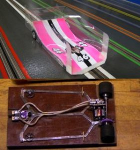 Wing-Car und -Chassis